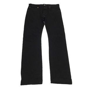 Ralph Lauren Double RL RRL Black Denim Jeans Sz 36